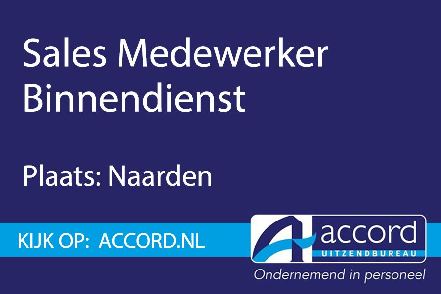 test Twitter Media - #Vacature: Sales medewerker binnendienst in Naarden.  https://t.co/FSy9psLdY7 https://t.co/tfMfgvzfnu
