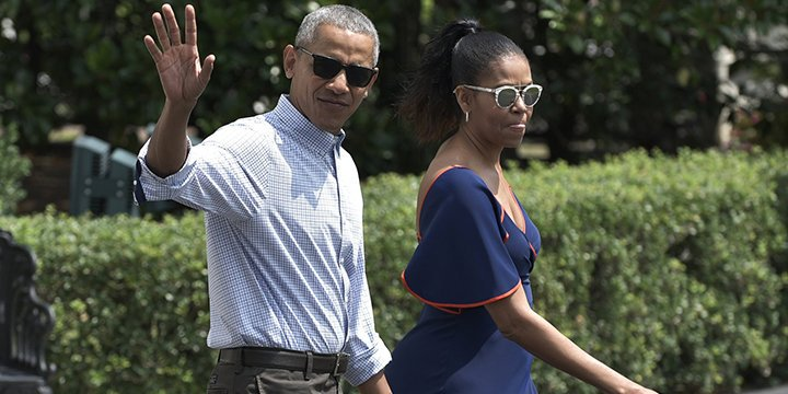 Barack Obama's now mainly focusing on wearing this casual backwards hat
