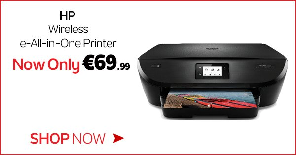 Let your creativity soar & keep costs low w/ the HP Envy Wireless Printer, now only €69.99! https://t.co/0VJq44Bvzd https://t.co/wuUnX1KWRn