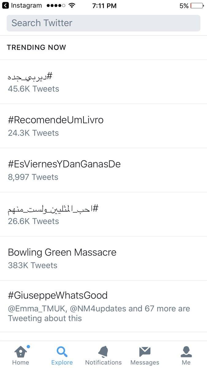 RT @ReazMinaj: And yasss.. it's trending WORLDWIDE ???????????? #GiuseppeWhatsGood https://t.co/OaFy1GVPR0