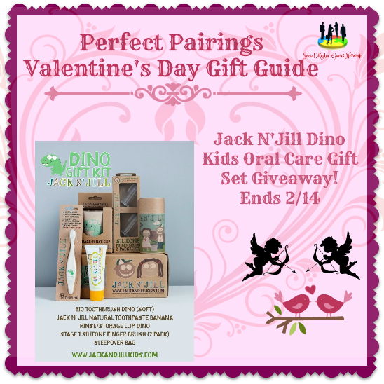 Jack N' Jill Dino Kids Oral Care Gift Set #Giveaway Ends 2/14 #SMGN