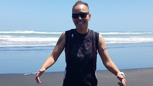 Terminally-ill inmate Vicki Letele talks about fitness, family and alternative medicine