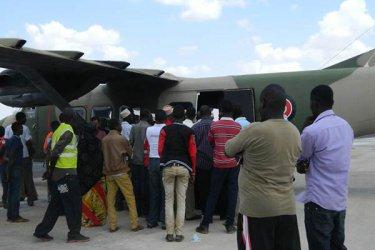 Bodies of slain KDF soldiers arrive in Mombasa