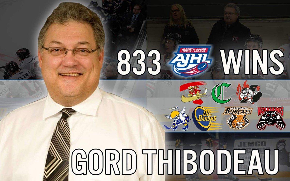 AJHL: Gord Thibodeau Gets AJHL Record