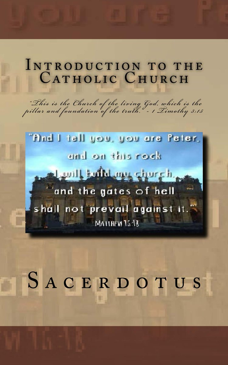 test Twitter Media - Learn about the #Catholic faith and how to defend her. Get the book  https://t.co/kmvQJ5oJ94 #yalit  #PrimeDay https://t.co/qmXydBvwWX #CatholicTwitter #CatholicChurch #catholicism #Catholics #Christianity #Christians #Apologetics #JesusChrist  #PalmSunday #HolyWeek #hosanna