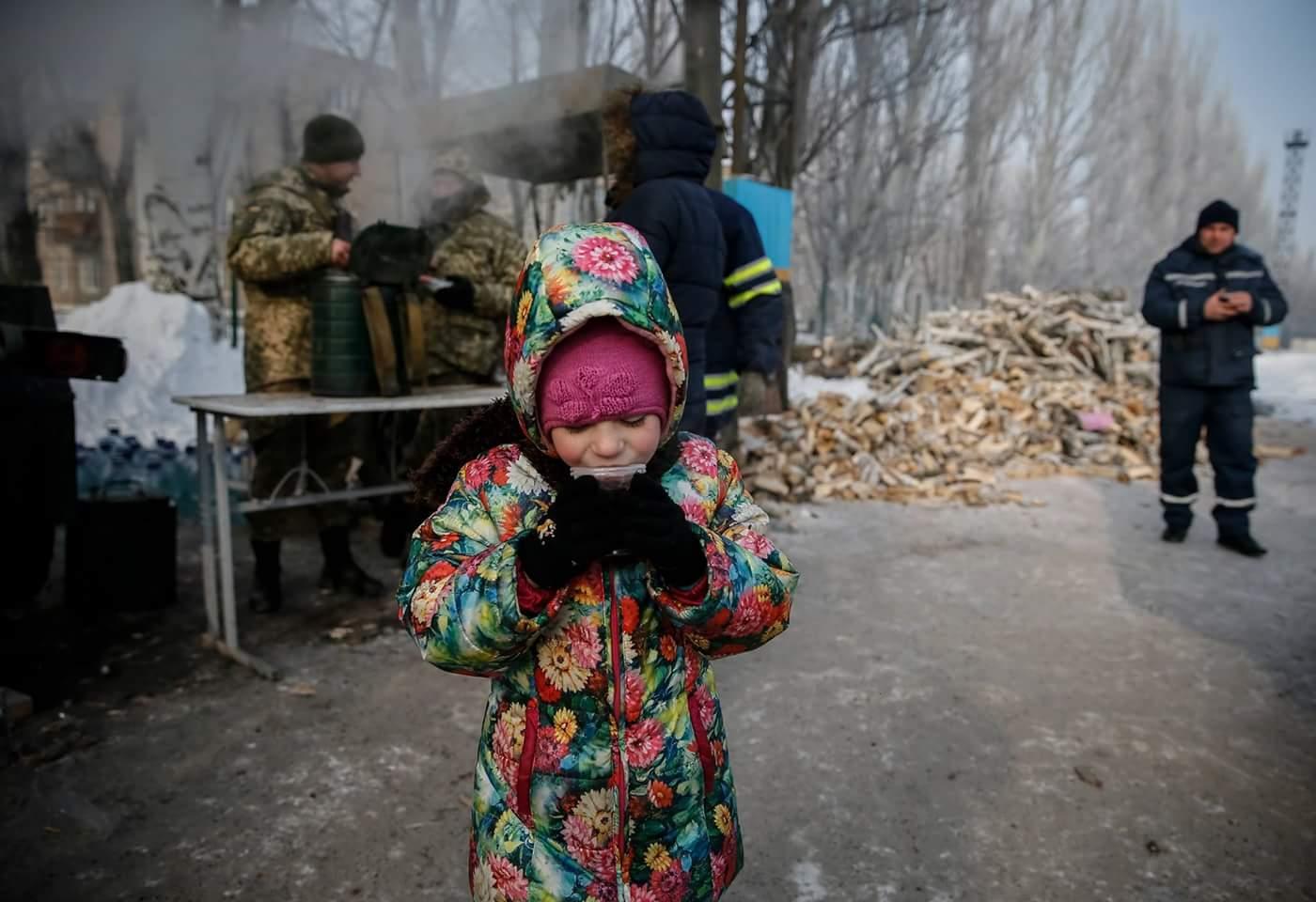 Фото дети в донбасе