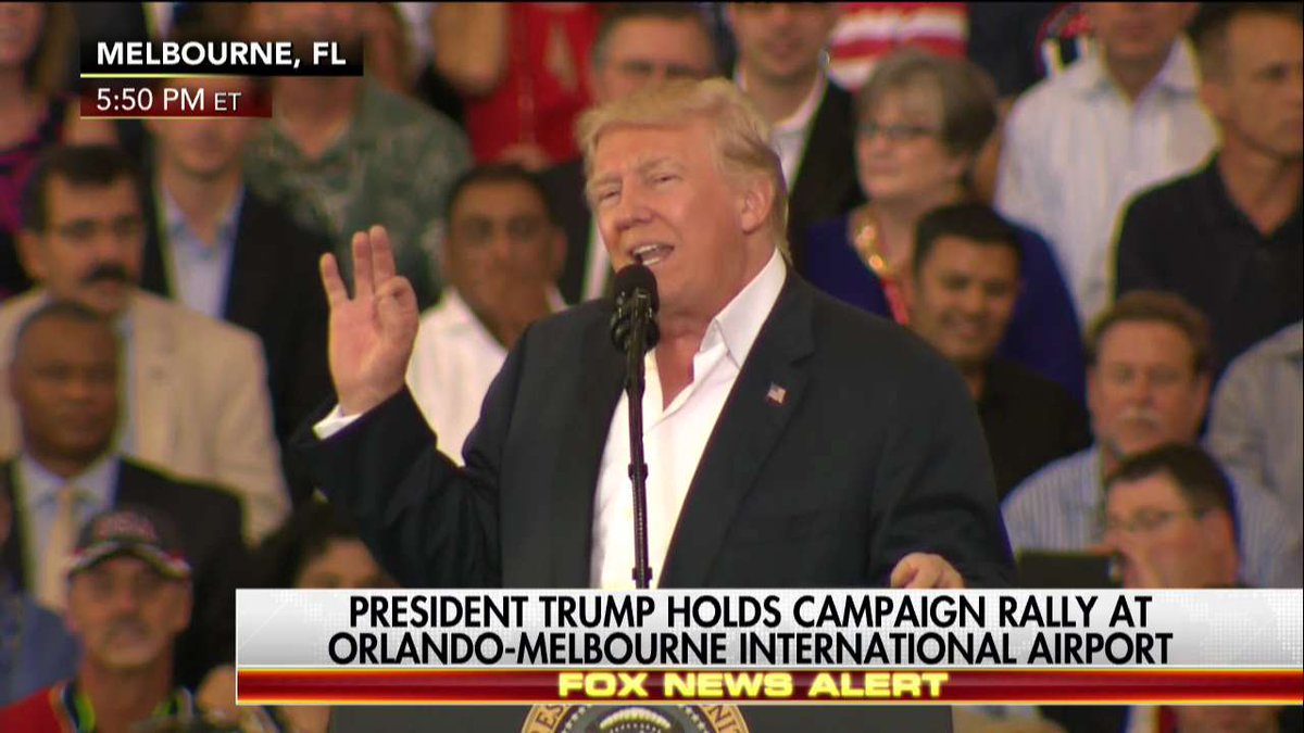 @realDonaldTrump Speaks to Supporters 'Without the Filter of the Fake News' https://t.co/JnqeL6KXsn