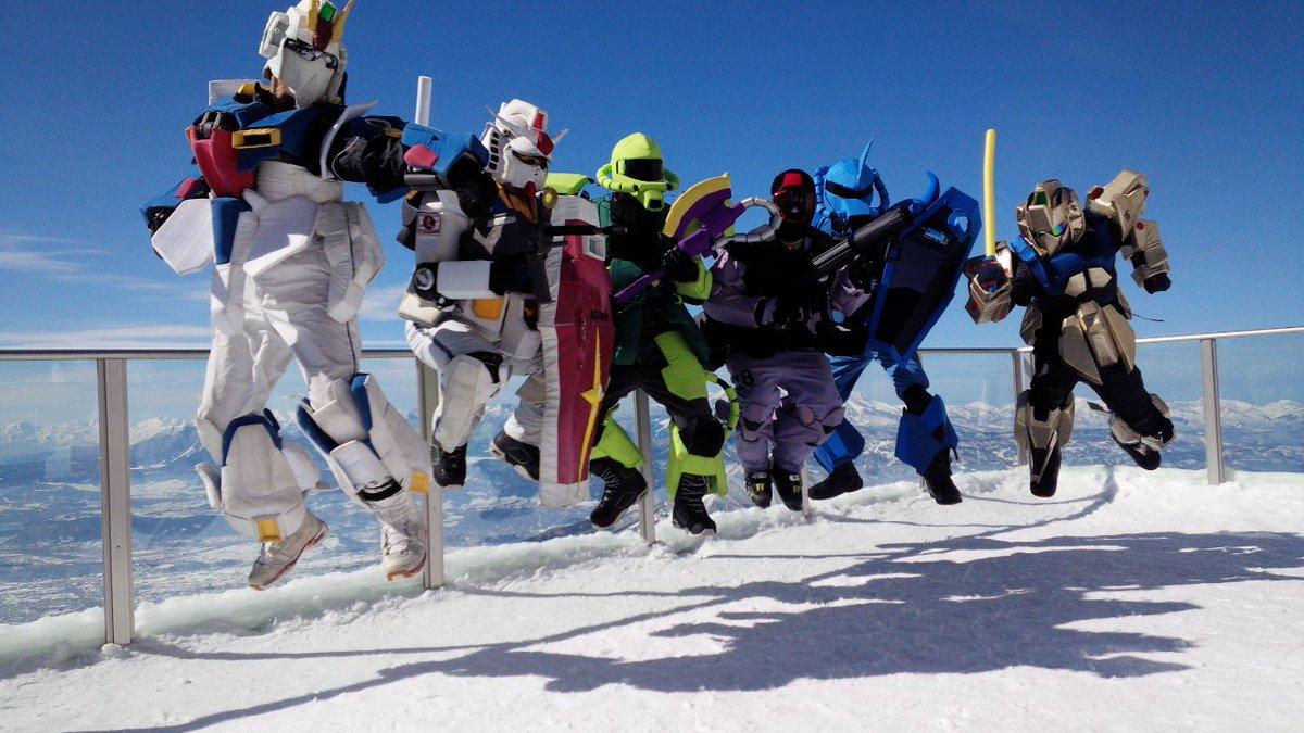 スキー場まで30分で行けるが、今シーズンは結局行かなそうだなぁ。生ガンダムさん来れば行くけど(^^)
