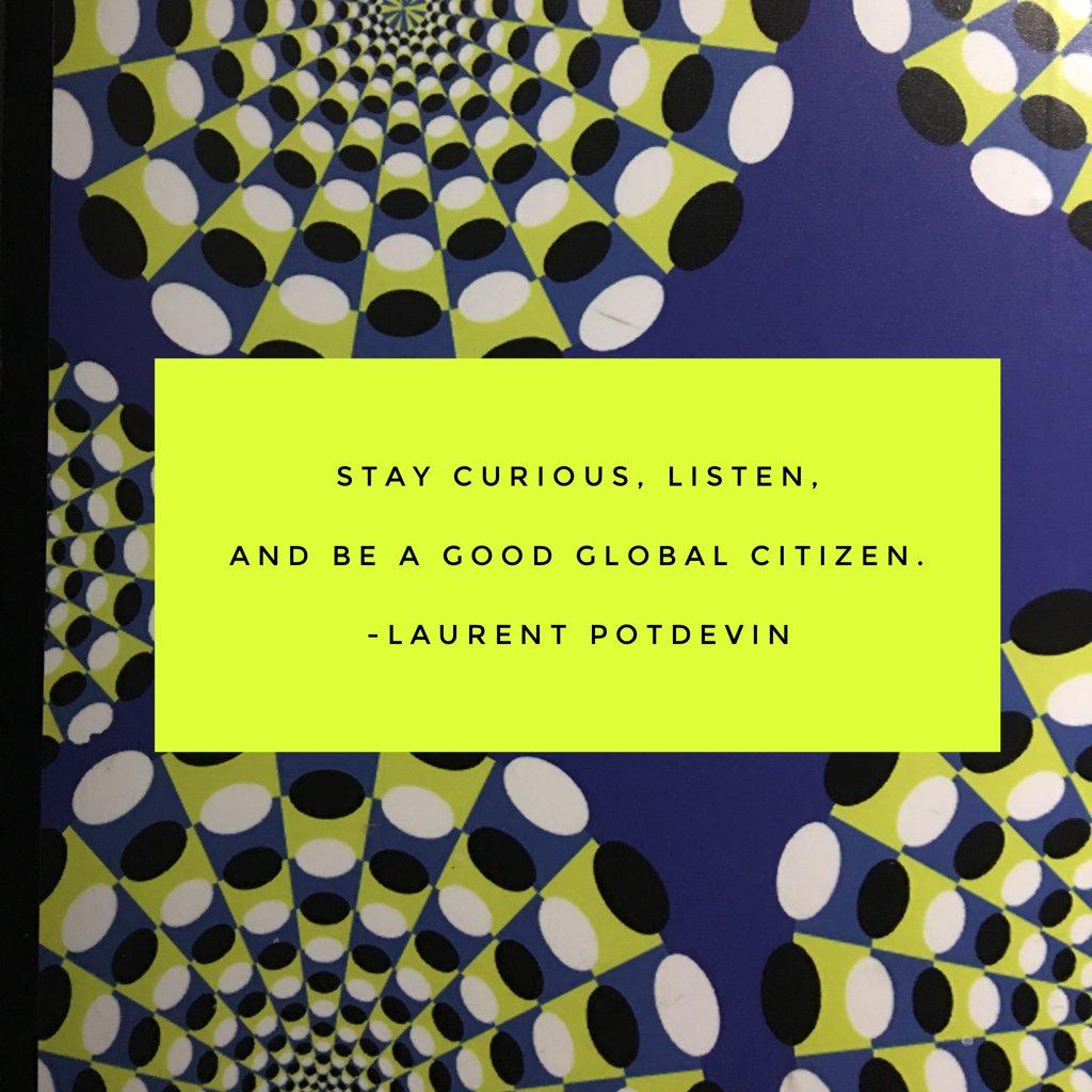 Stay curious, listen, and be a good global citizen. --Laurent Potdevin #wisdom2017 https://t.co/VpAFVbTLVQ