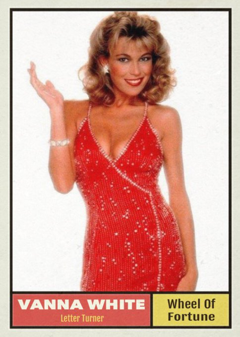 Happy 60th birthday to Vanna White.