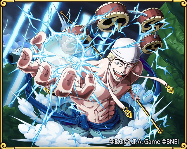 Found a Transponder Snail! Exclusive shots of Skypiea's 'Kami,' Eneru! https://t.co/NdDPmJ47g0 #TreCru https://t.co/oKXDRv5cCn