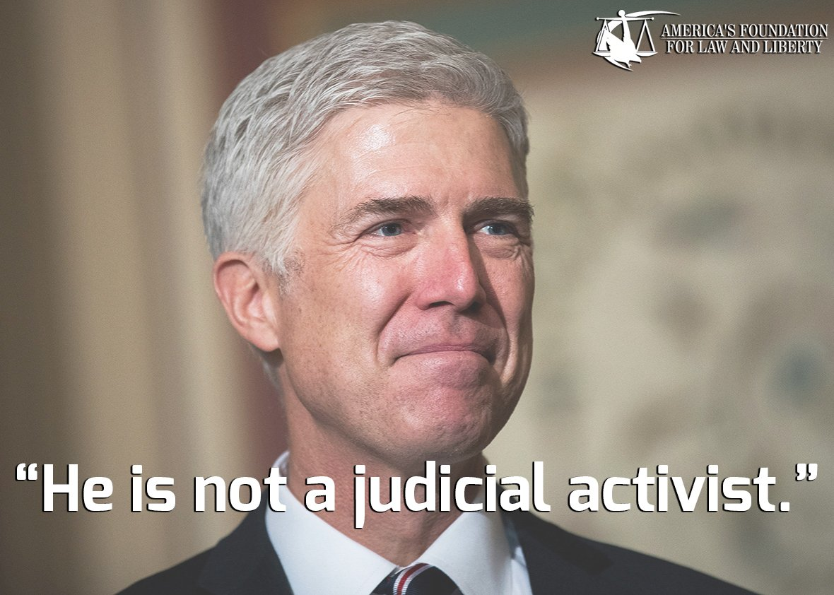 MT @AFLawLiberty: AFLL Chairman Warrington stmt #SCNominee #Gorsuch https://t.co/HhkYY5PF8K https://t.co/InvlCVlcNz #ConfirmGorsuch #PJNET