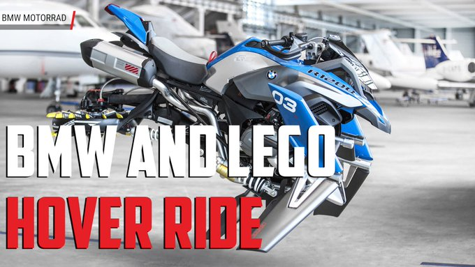 @TheRealAutoblog: .@BMWMotorrad built a full-size flying motorcycle that's based on a @LEGO_Group kit https://t.co/PW4XVzk3H2 https://t.co/M19Rq6vgyv