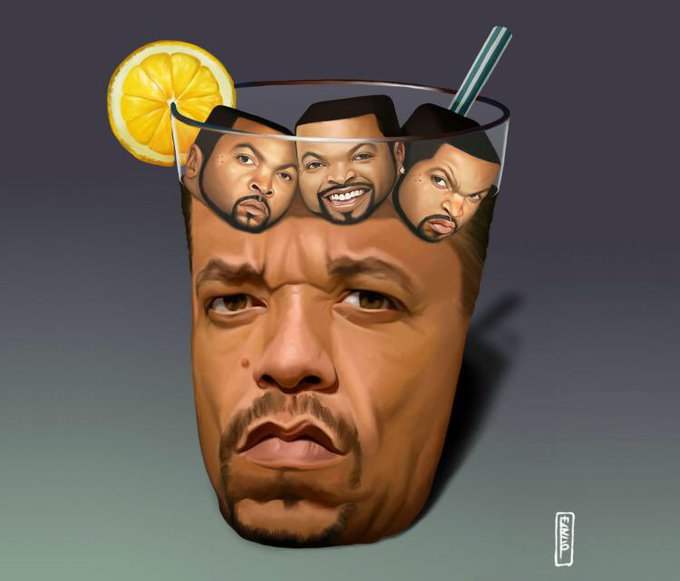 Happy birthday to Ice T! to one of our favorite images