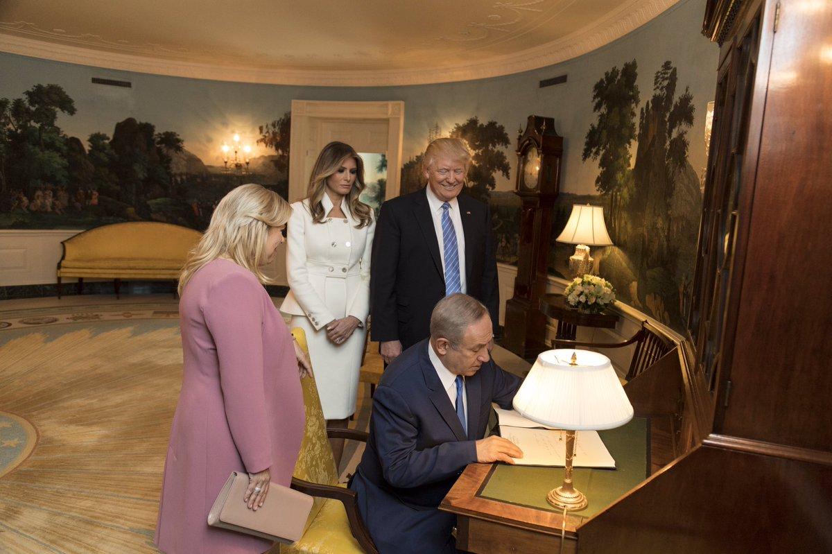 'President Trump Hosts Israeli Prime Minister Benjamin Netanyahu at the White House'