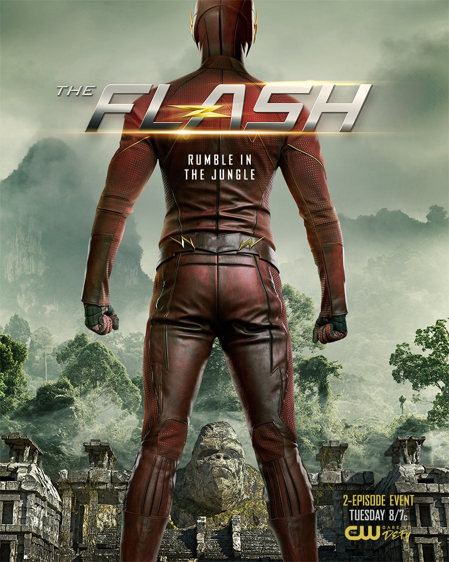 MT @cw_theflash #TheFlash is ready to rumble. Don't miss the 2-episode event, starting Tuesday at 8/7c!