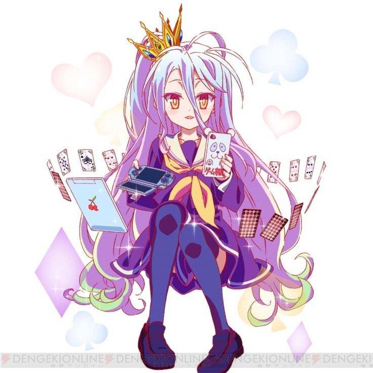 『ウチ姫』×『ノーゲーム・ノーライフ』コラボで白やステフ、ジブリールなどが登場  #ウチ姫 #ノーゲームノーライフ