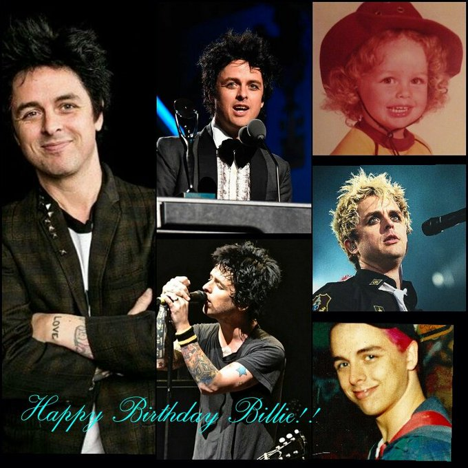 HAPPY 45th BIRTHDAY BILLIE JOE ARMSTRONG!! WE LOVE YOU SO MUCH, HAVE A GREAT DAY!