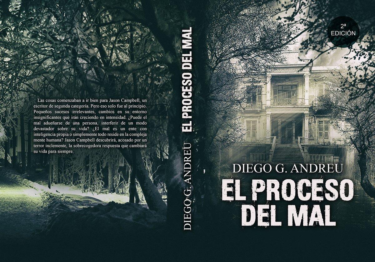 _EL PROCESO DEL MAL_ por @DiegoGAndreu #Terror #Suspense #ThrillerPsicológico https://t.co/M4S16lDUAY https://t.co/CNxg9NvC5B