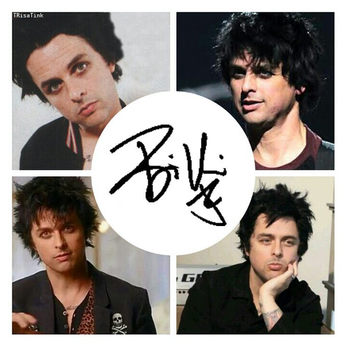 Happy birthday to my king, my hero, my love, Billie Joe Armstrong