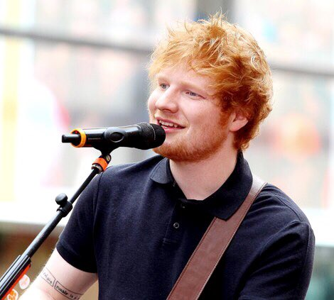 Happy birthday to the singer of Shape of You, Ed Sheeran!