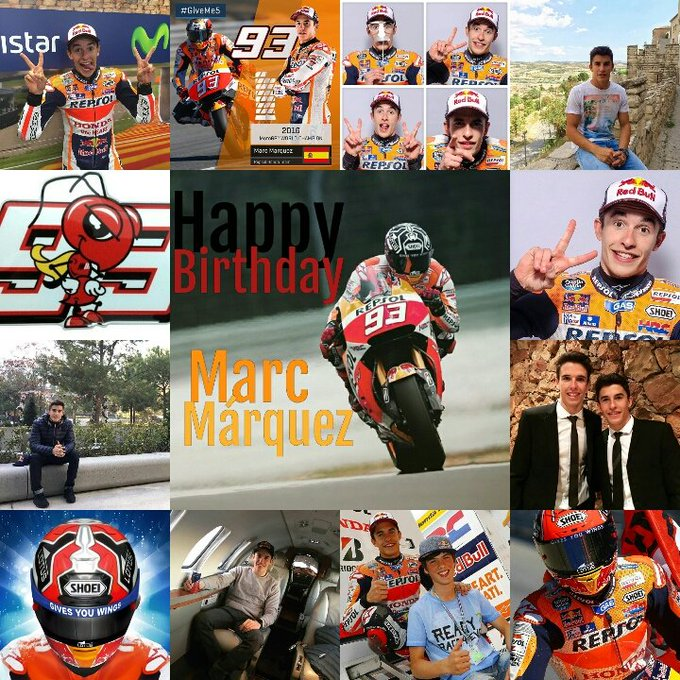 Happy Birthday Marc Márquez