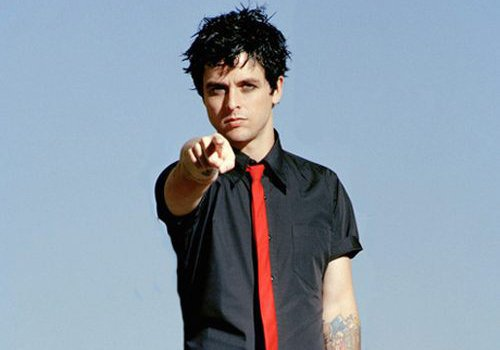 Happy birthday to Billie Joe Armstrong, 45 today :-)