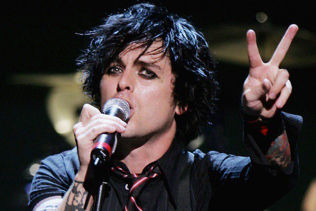 Happy birthday Billie Joe Armstrong legendary front man for - 45 today