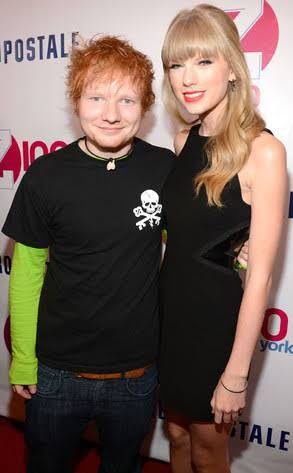 Happy Birthday to Taylor\s best friend Ed Sheeran.