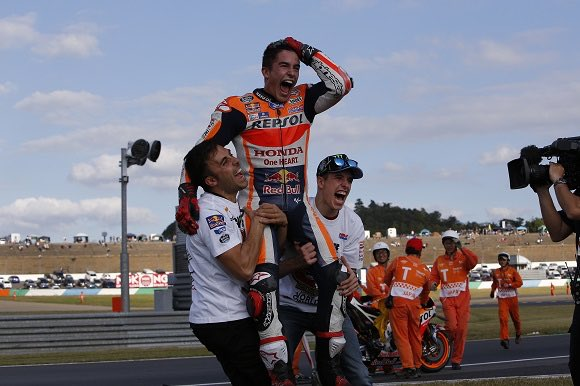 Happy birthday 5 time world Champion Marc Marquez!!