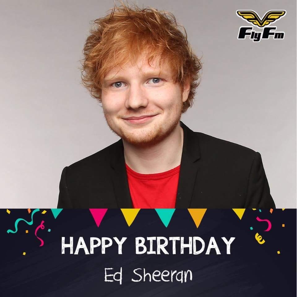 Happy 26th Birthday! Ed Sheeran... Hahahaha