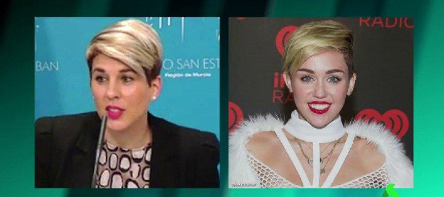VÍDEO | Miley Cyrus se reinventa y se convierte en portavoz del Gobierno de Murcia