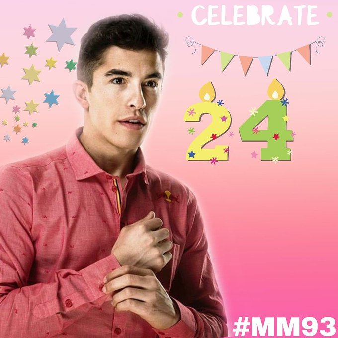 Happy Birthday Marc Marquez   Wiss U All The Best For You