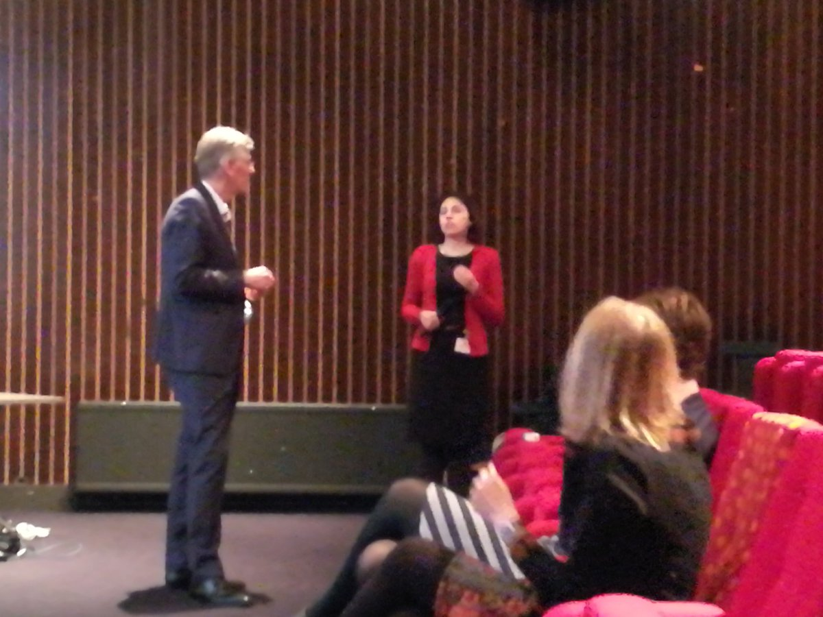 test Twitter Media - Great discussion with the rector @TUeindhoven on balancing personal and professional life #womeninscience #womenintech https://t.co/r1GyiITGMm