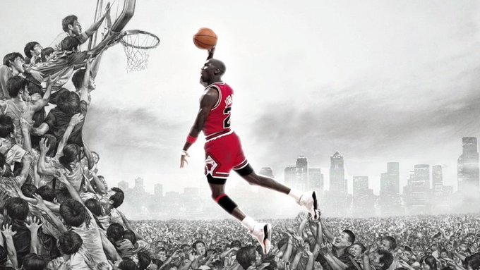 There are two kinds of players. Michael Jordan and others. Happy Birthday