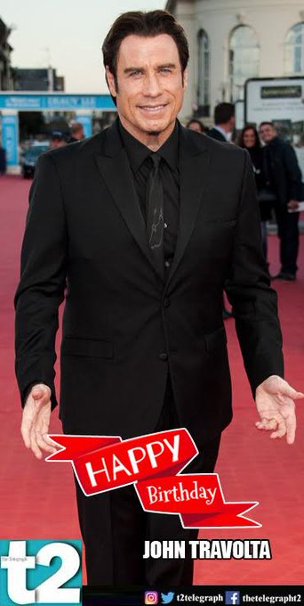 T2 wishes a happy birthday to John Travolta. Show us those moves!
