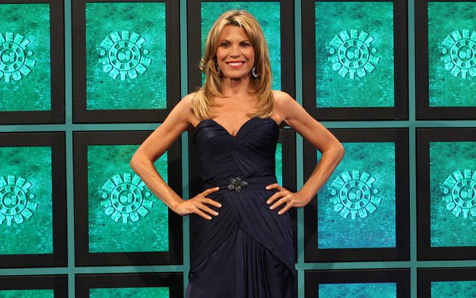 Vanna White of Wheel of Fortune is 60 years old now. WOW Happy Birthday