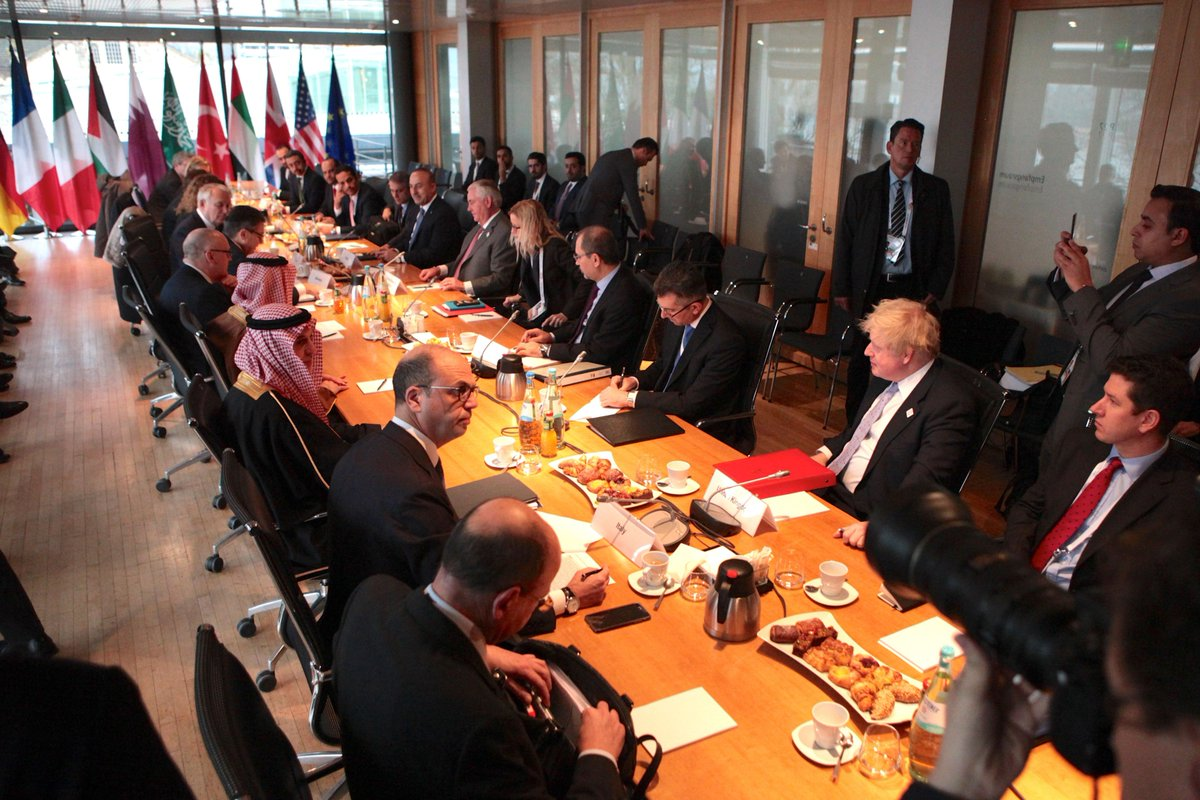 This morning, Secretary Tillerson participated in a meeting on #Syria on the margins of #G20Bonn in Germany.