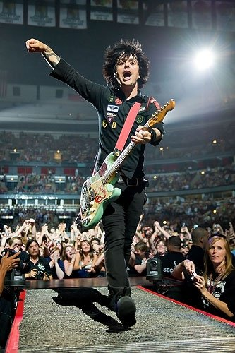 Remessageed Rock Pictures ( Happy birthday Billie Joe Armstrong!!