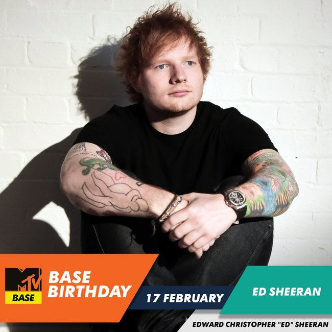 | is a year older today Happy birthday What\s your fav Ed Sheeran track?
