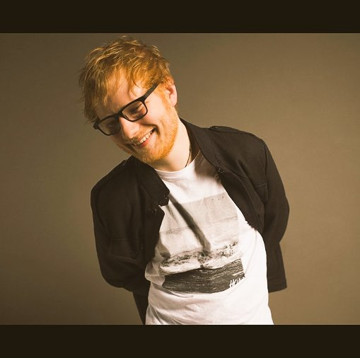 My favorite ginger turns 26 today. Happy Birthday Ed Sheeran