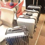 Police spend an entire day counting R22m found in 4 suitcases at airport