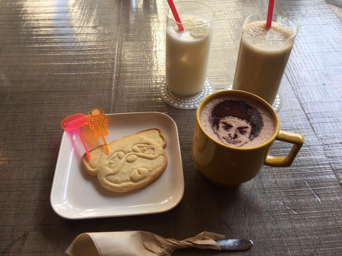 宇宙兄弟カフェ面白かったし美味しかった!