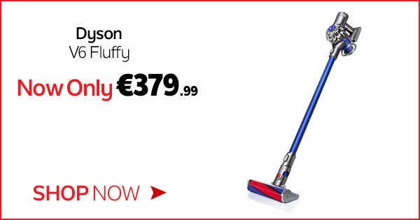 The V6 Fluffy is designed to clean your whole home & boasts a digitally controlled motor! - https://t.co/48jb2gEVFS https://t.co/Ft43W02igO