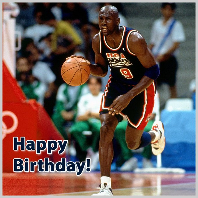 Help us wish Michael Jordan a very happy birthday!