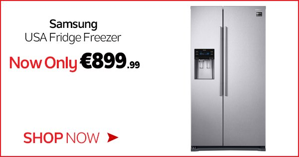 Keep your food fresher for longer on the Samsung USA Fridge Freezer, now only €899.99! - https://t.co/KDOqX9asM2 https://t.co/qbIEGVNupA