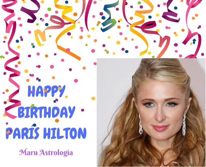HAPPY BIRTHDAY PARIS HILTON!!!!