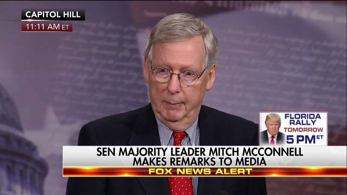 ".@SenateMajLdr ""We don't expect any Democratic cooperation on the replacement of ObamaCare."""