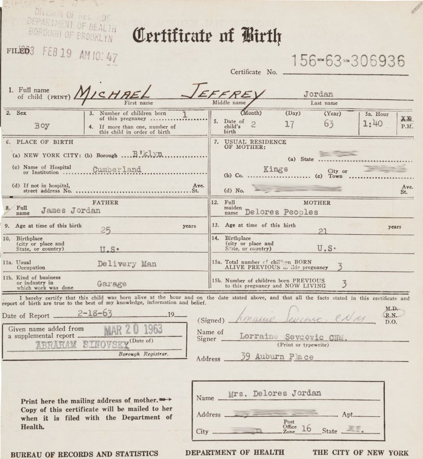 RT @darrenrovell: Michael Jordan came into the world on this minute, 54 years ago https://t.co/YjDFPOeh9r