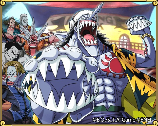 Found a Transponder Snail! Take a look at the Fishmen behind Arlong Park! https://t.co/Wpxlw9MnR3 #TreCru https://t.co/Cx8PPwezYU
